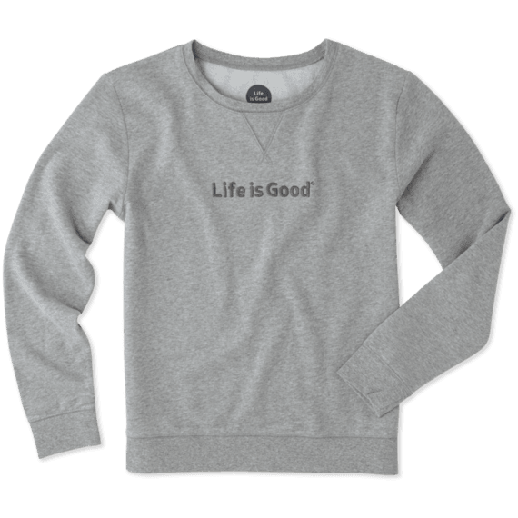 Women's Crewneck Sweatshirts | Life is Good® Official Site