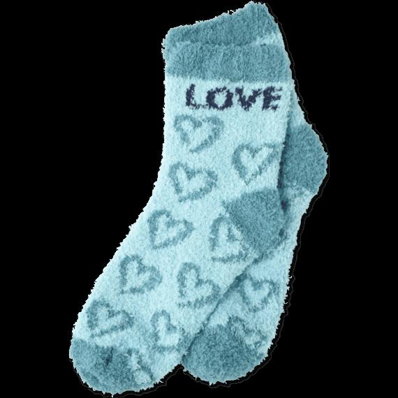 Snuggle Crew Heart Socks