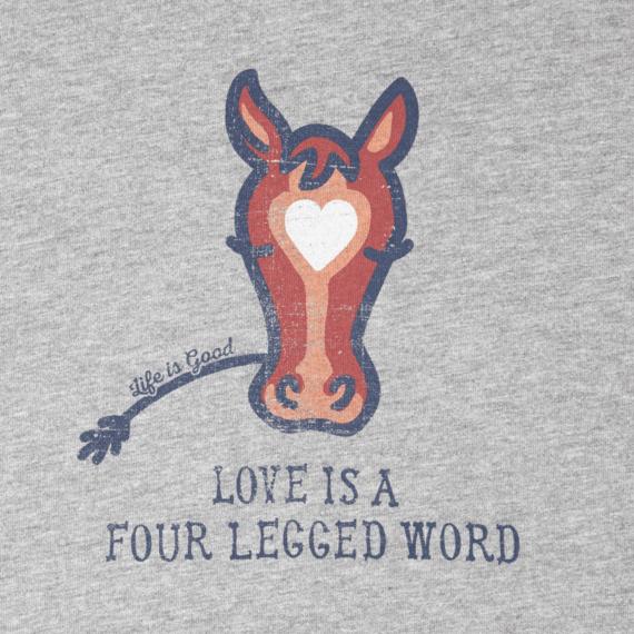 Women's Love Horse Crusher Scoop