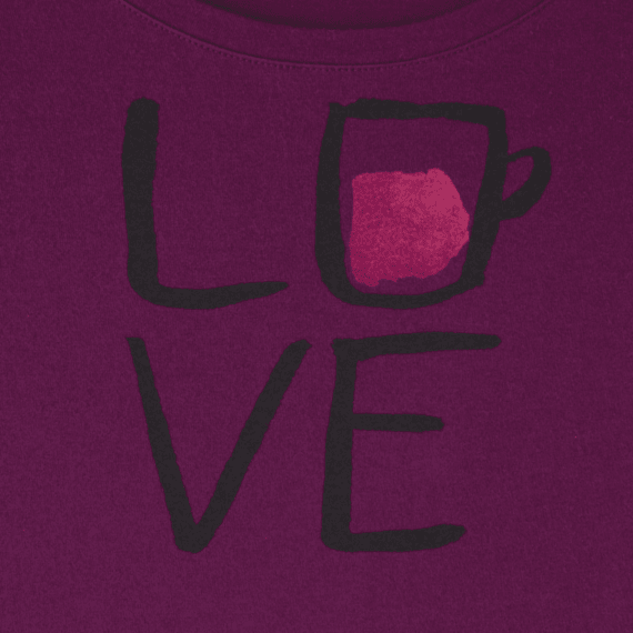 Women's Love Snuggle Up Sleep Tee