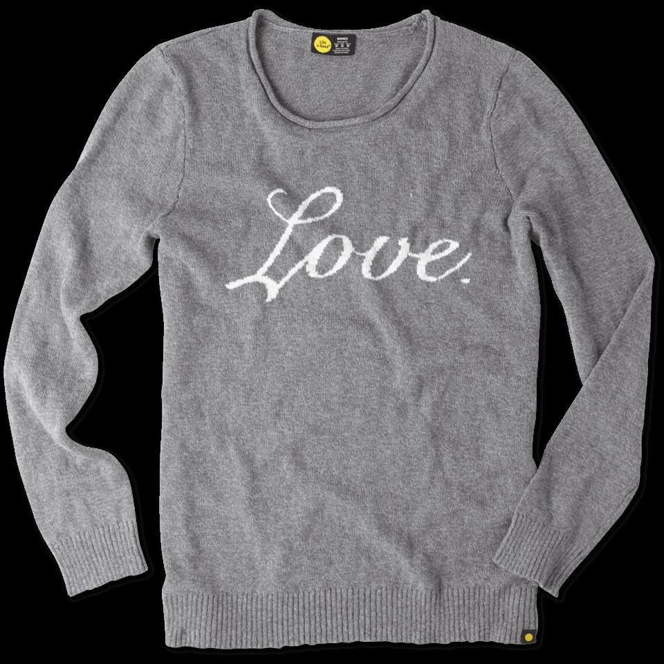 Women's Love Slouchy Sweater
