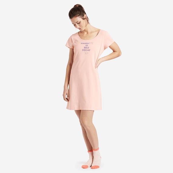 Women's Mamaste Sleep Tee Dress
