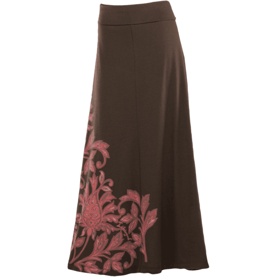 Women's Brown Maxi Skirt | Brown Maxi Skirts | Life is good