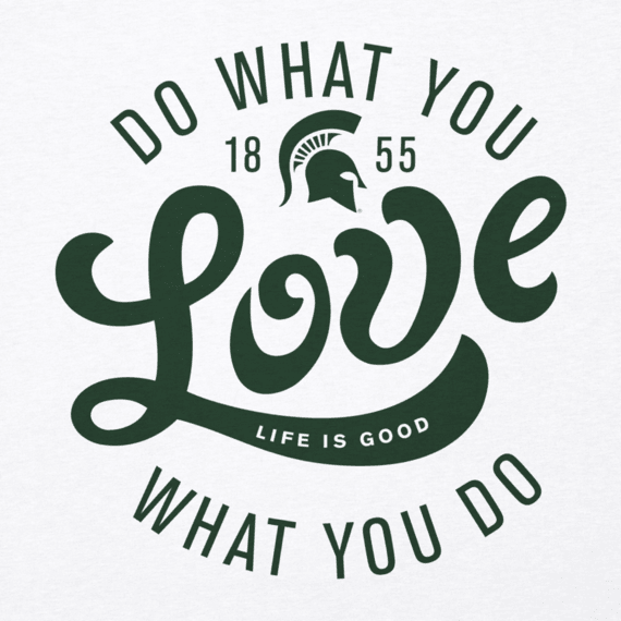 Women's Michigan State University Do What You Love Cool Vee