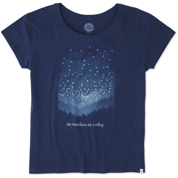 Women's Mountains Calling Breezy Tee