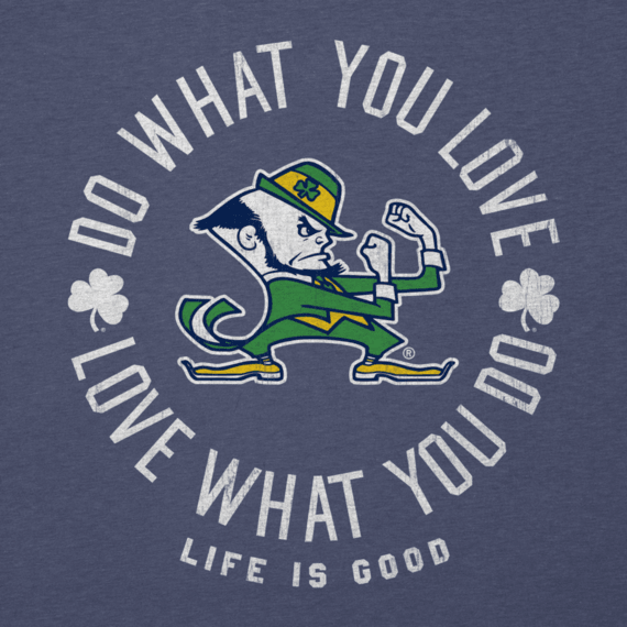 Women's Notre Dame Do What You Love Long Sleeve Cool Vee