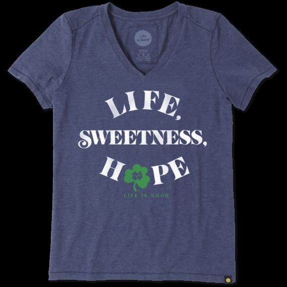 Women's Notre Dame Sweetness Cool Vee