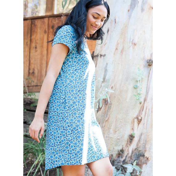 Women's Dots V-Neck Dress