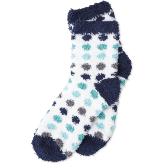 Snuggle Crew Polka Dot Socks