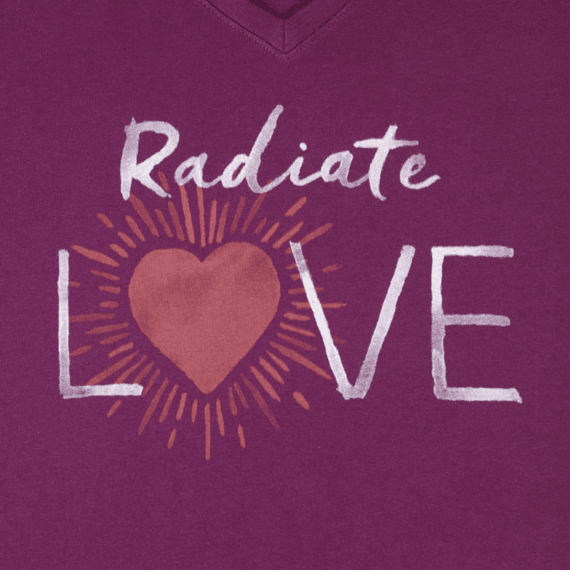 Women's Radiate Love Crusher Vee