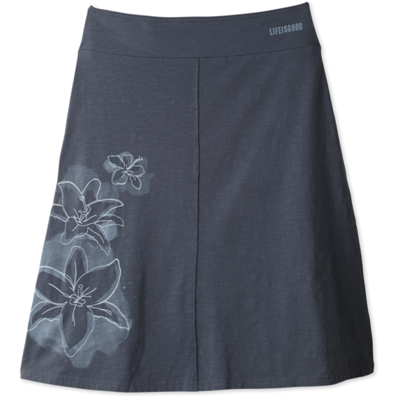 Women's Raw Edge Skirt