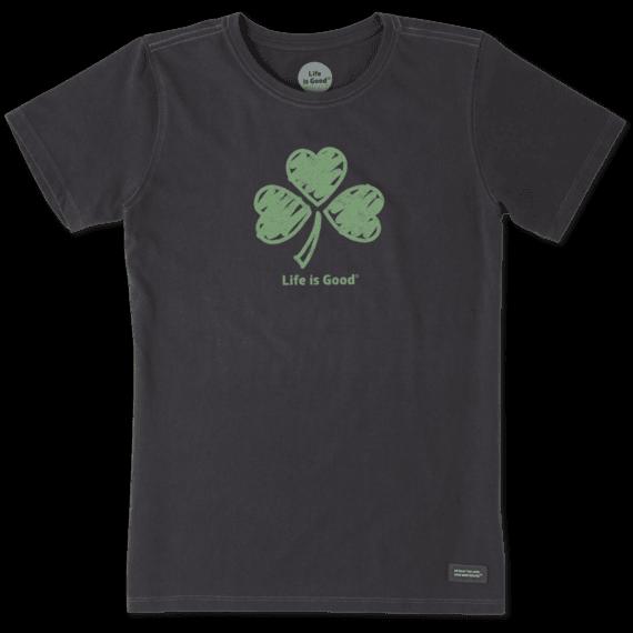 St Patricks Day Women´s Shamrock Hearts Crusher Tee