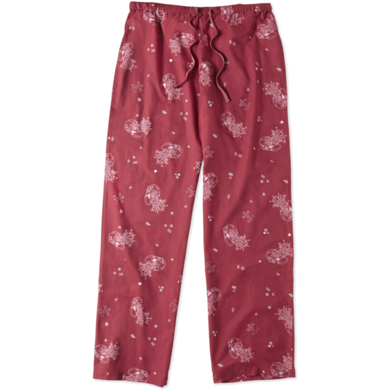 Women's Flower Jar Sleep Pant