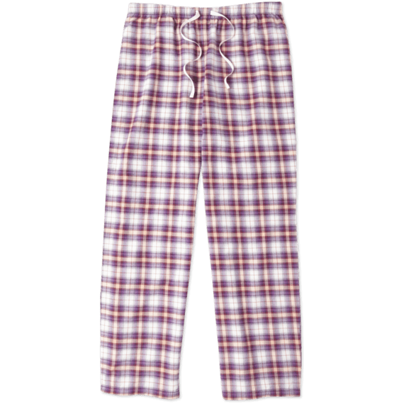 Women's Small Plaid Sleep Pants|Life is Good