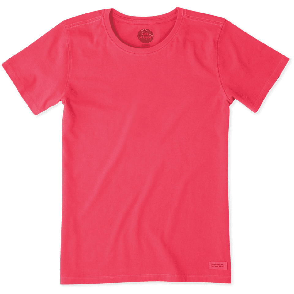 Womens Solid Crusher Tee