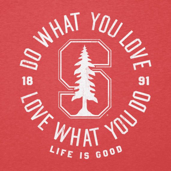 Women's Stanford Do What You Love Circle Long Sleeve Cool Vee
