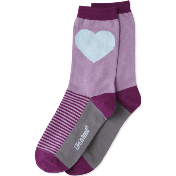 Heart Crew Socks