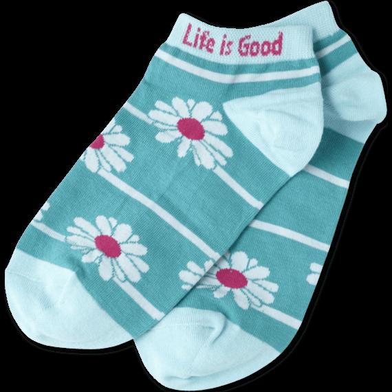 Tossed Daisy Low Cut Sock