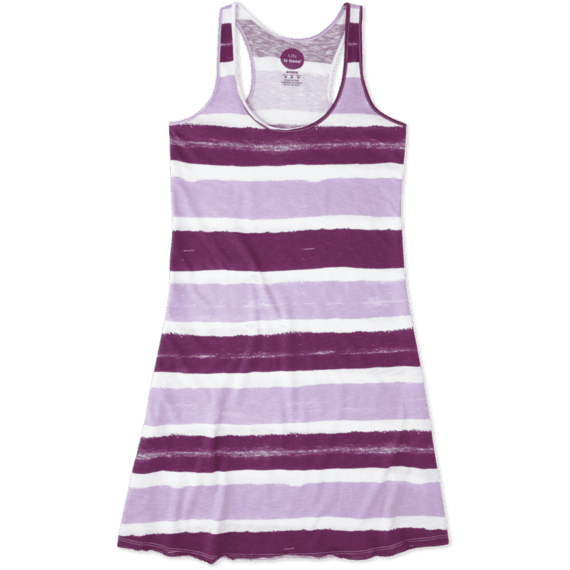 Women's Stripe Racerback Dress