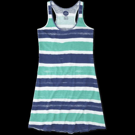 Women's Stripe Racerback Dress