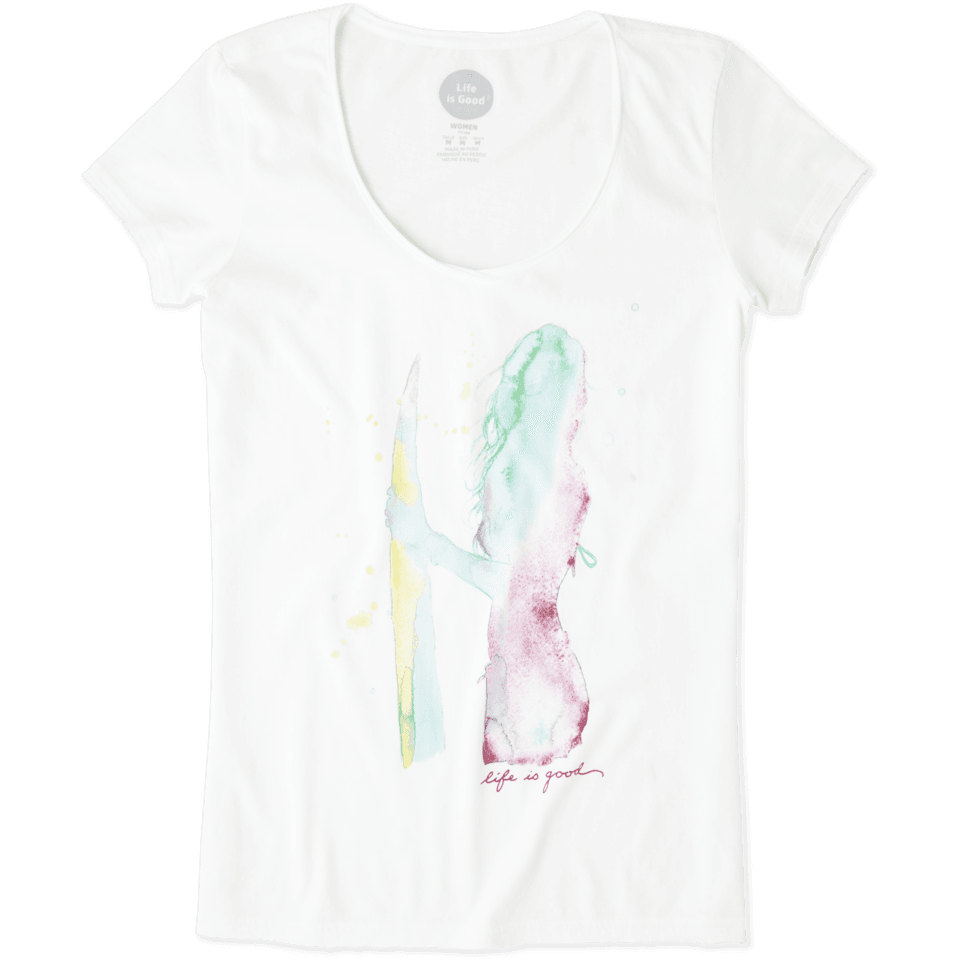 Womens Surfer Smooth Tee