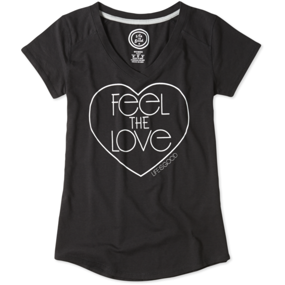 Women's Feel The Love Tech Vee