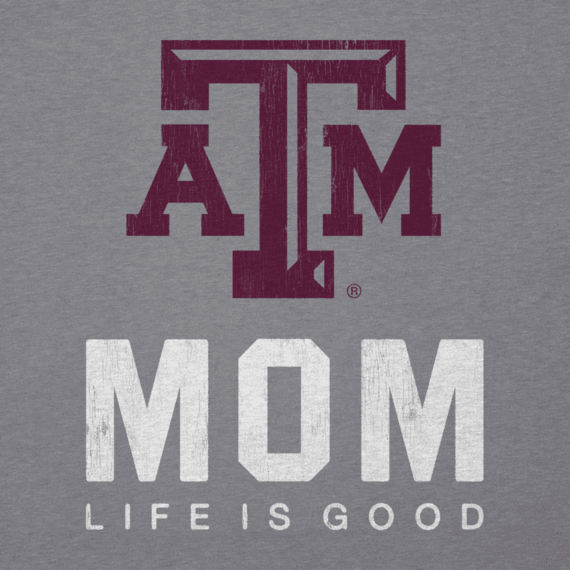 Women's Texas A&M Mom Cool Vee