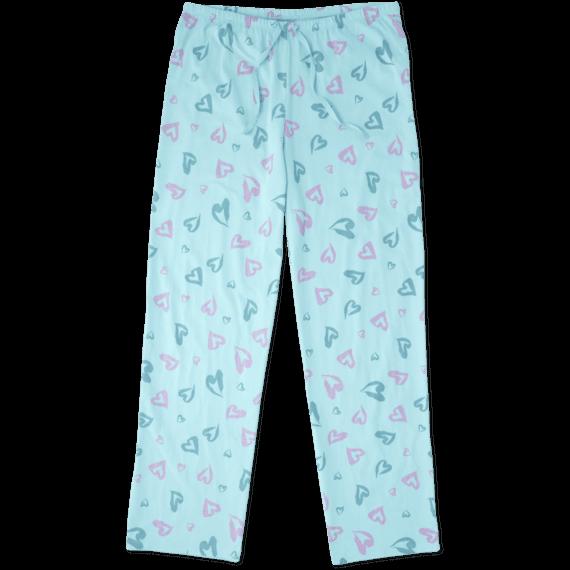 Women's Heart Jersey Sleep Pant