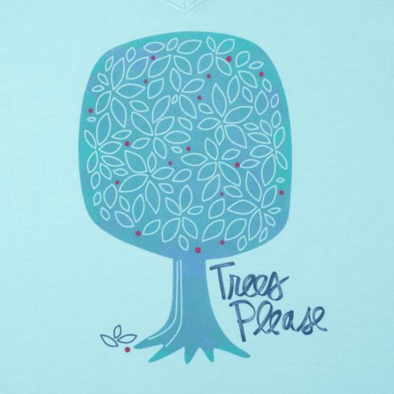Women's Trees Please Cool Tee