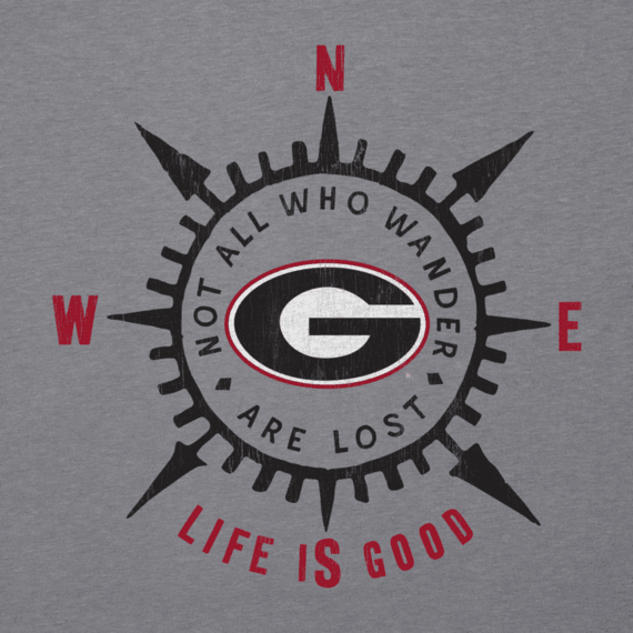 Women's University of Georgia Wander Compass Cool Vee