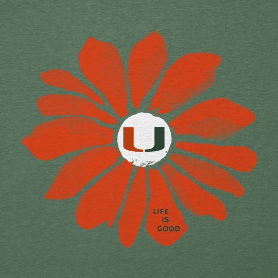 Women's University of Miami Daisy Cool Vee