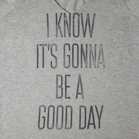 Women's It's Gonna Be A Good Day Newbury Tee