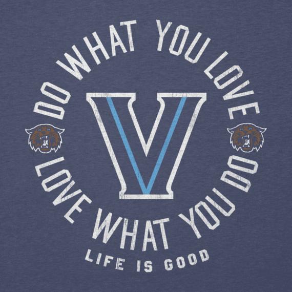 Women's Villanova Do What You Love Long Sleeve Cool Vee