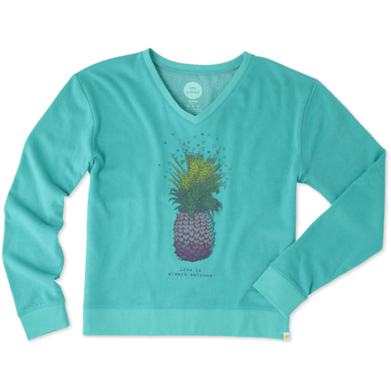 Women's Pineapple Summertime Sweatshirt