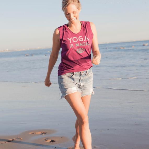 Women's Yoga Magic Hoodie Smooth Tee
