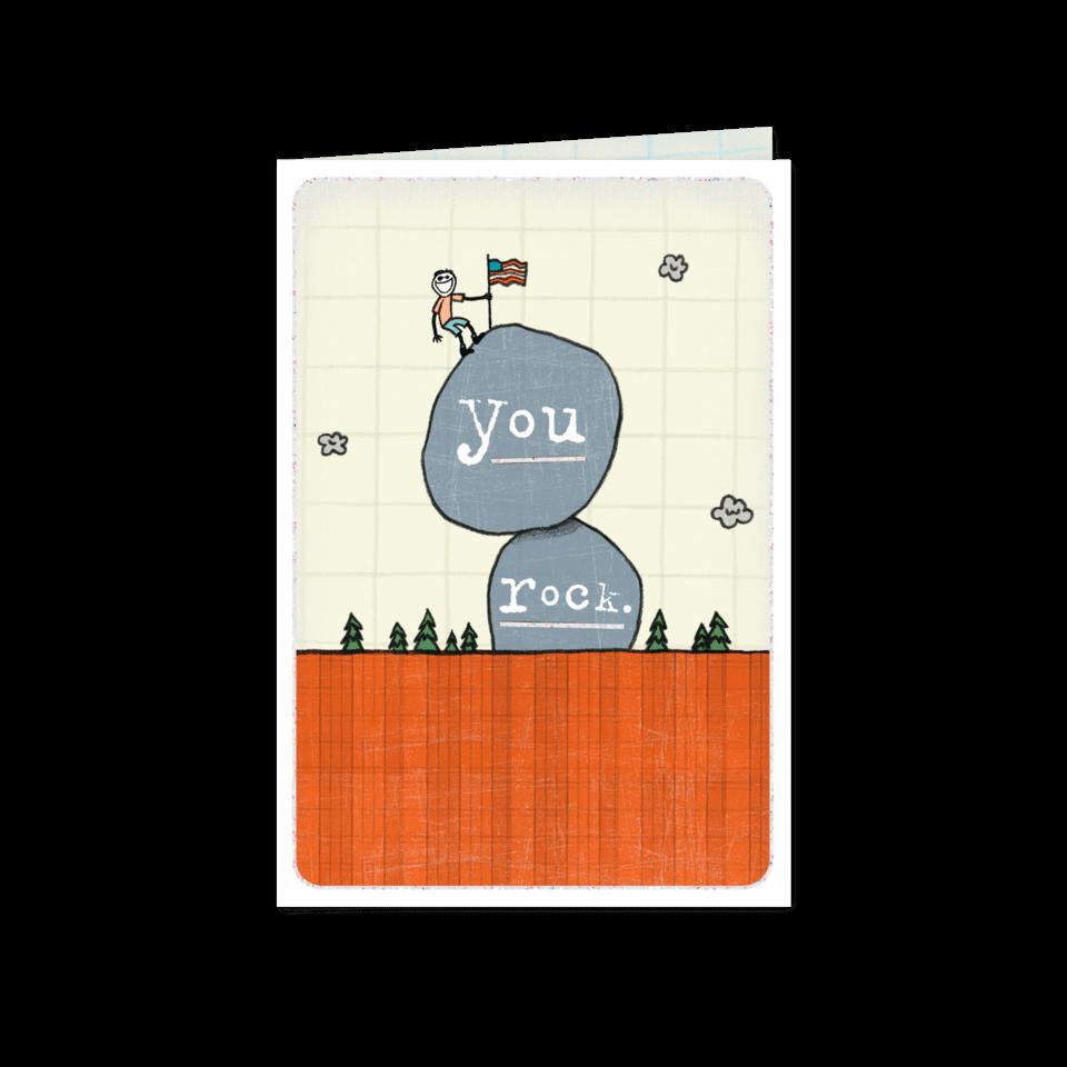 You Rock Jake Card 0399M1320-OS