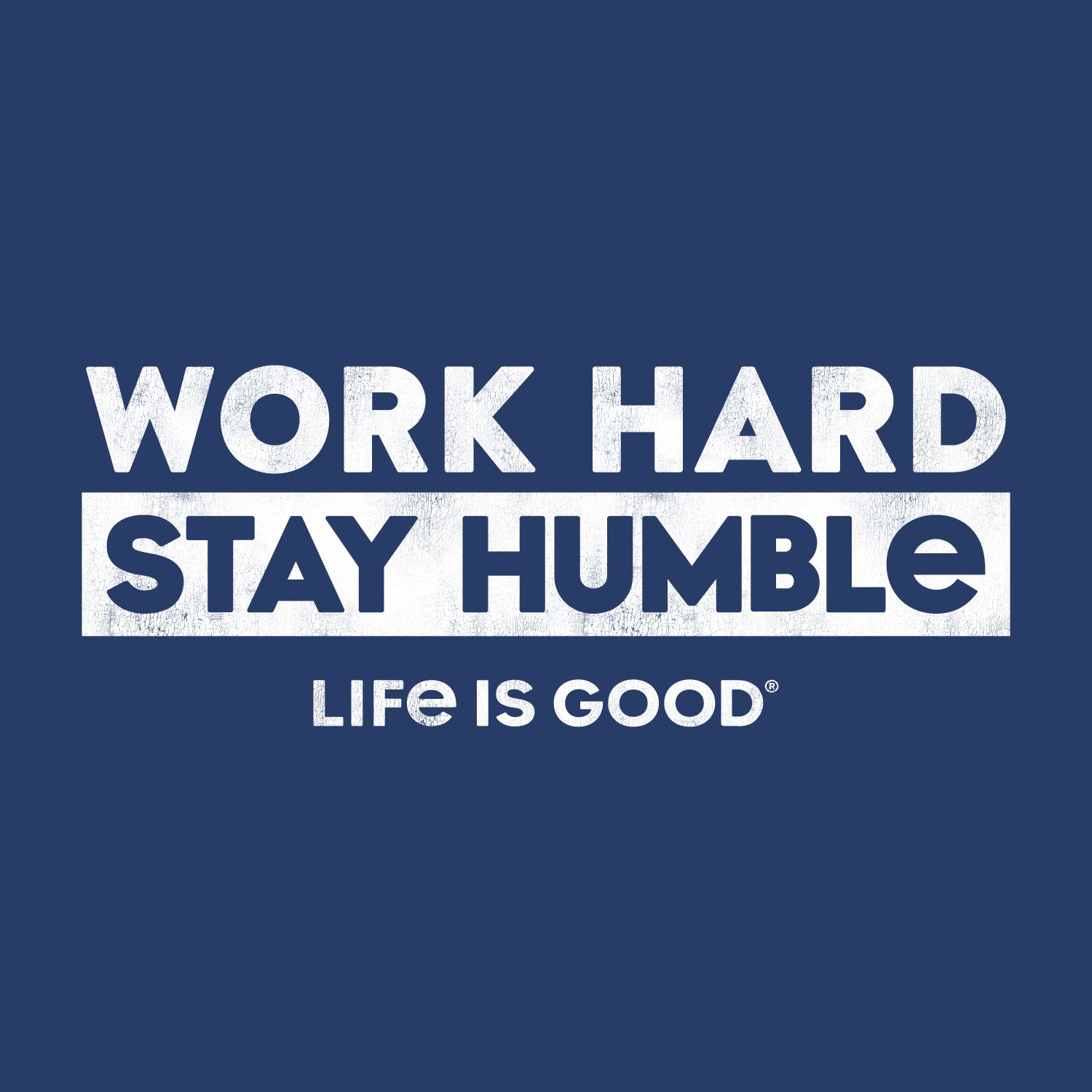 darkest blue graphic work hard stay humble