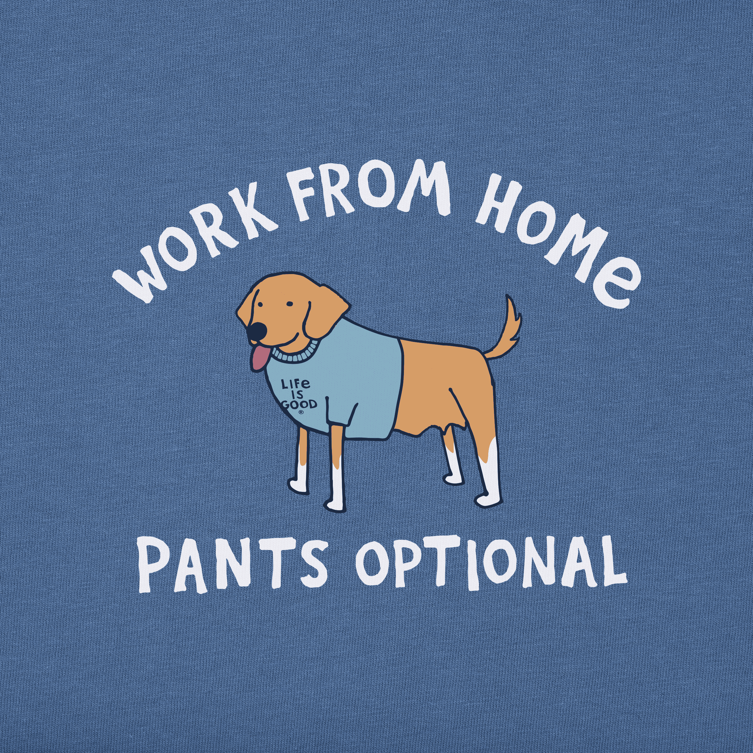 work from home pants optional dog