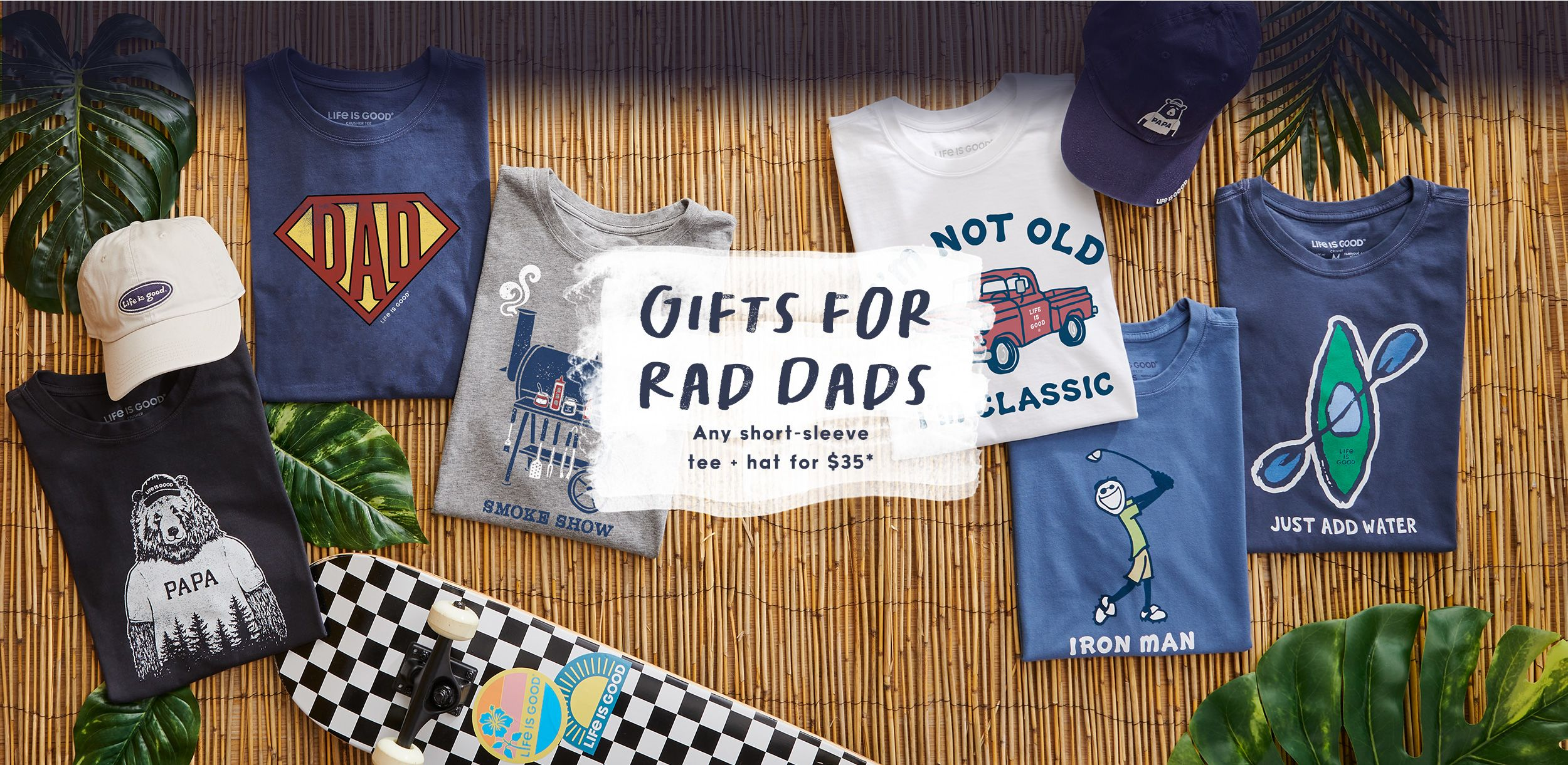 Shop the Father's day collection