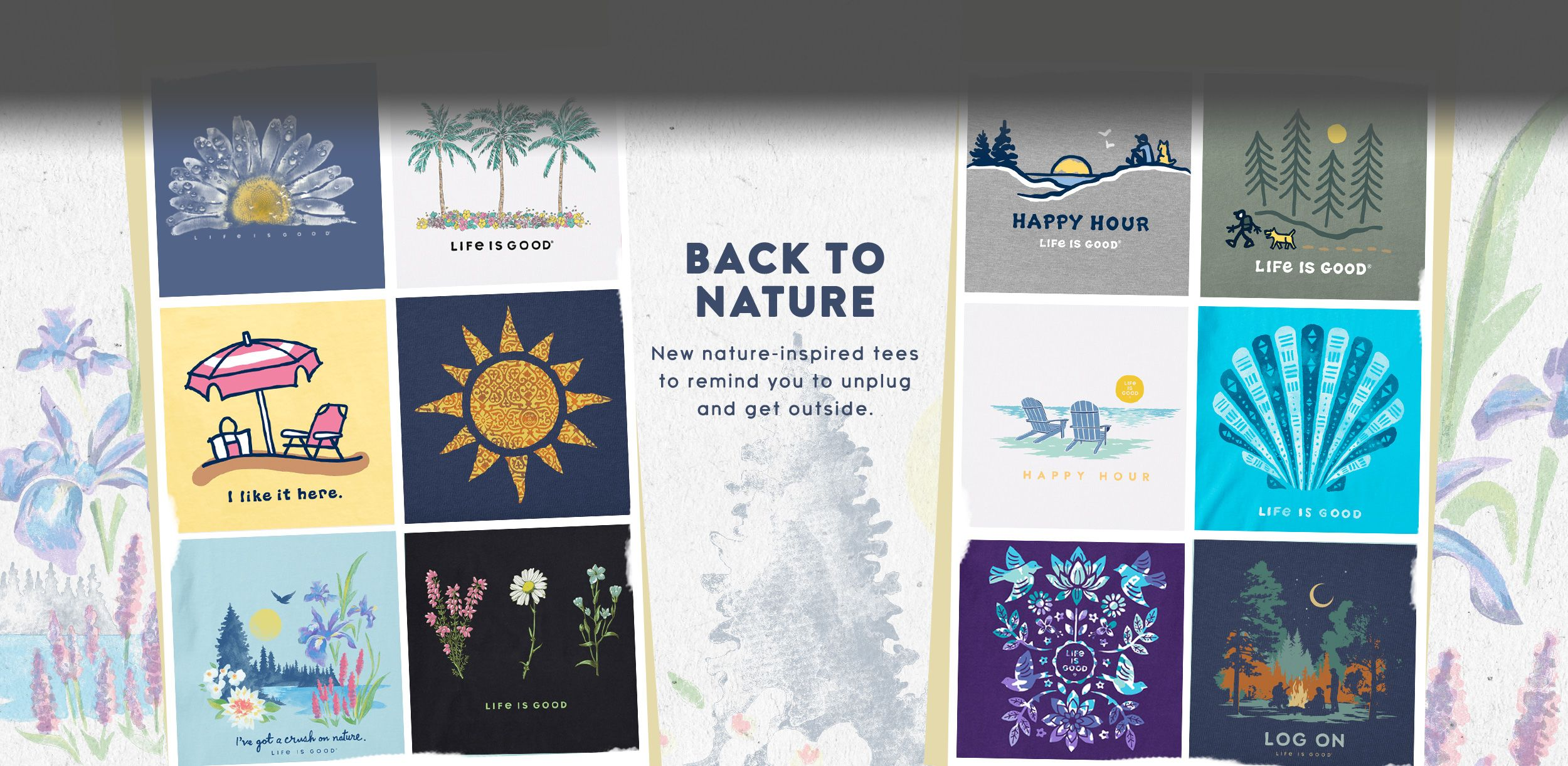 Shop All New Nature Tees