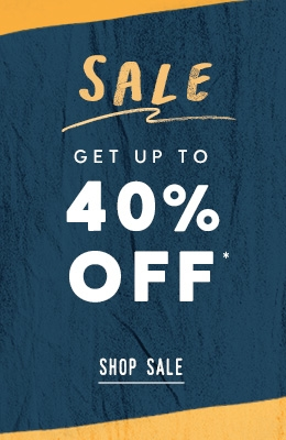 up to 50 percent off