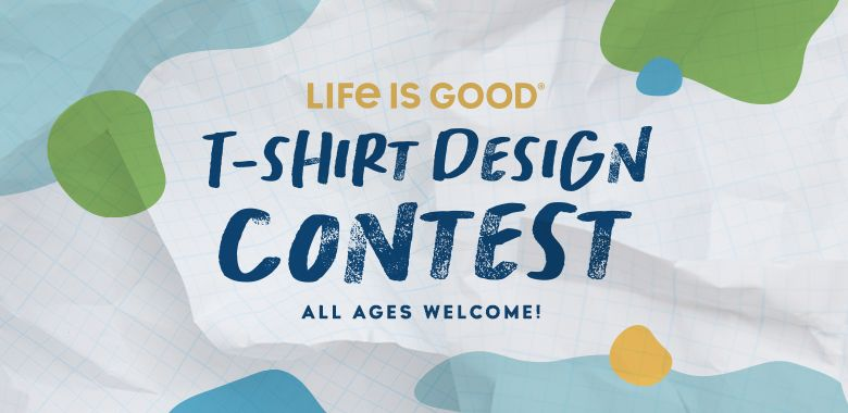 The Life is Good T-shirt Design Content