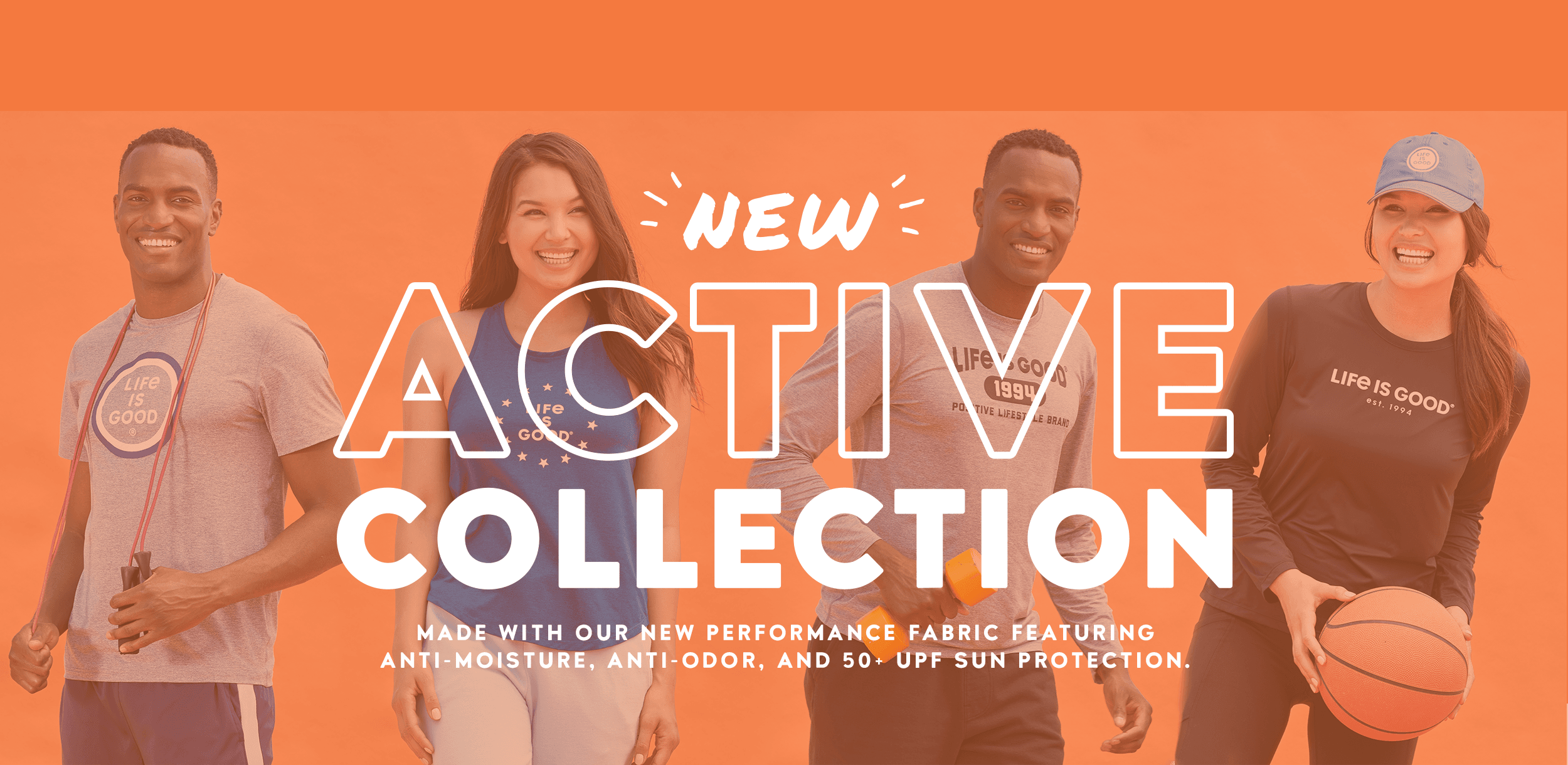Shop the Active Collection