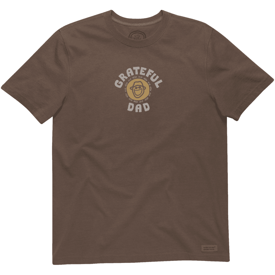 Men's Grateful Dad Crusher Tee