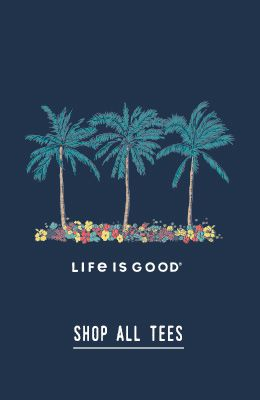 Cool Palm Flowers- Shop all tees