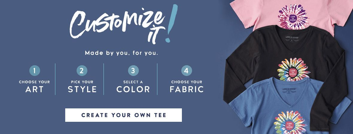 Create your own Custom Tee Shirt