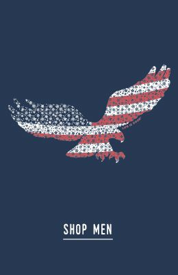 Patriotic Eagle -  shop mens tees